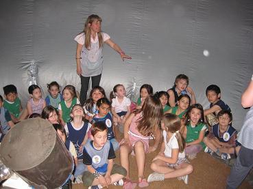 Planetario movil colegios bahia blanca for Jardin 901 bahia blanca