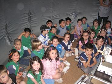 Planetario movil colegios bahia blanca for Jardin 904 bahia blanca